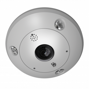 CAMERA IP 360° 6 MPX J/N EXT