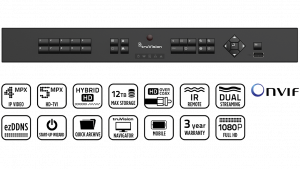 Enregistreur HD-TVI 16voies HD
