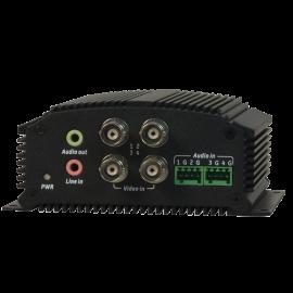 Encodeur IP H264 4 Voies 960H