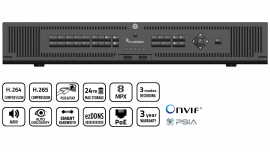 NVR 22 PLUG&PLAY 16 CANAUX IP