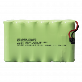 PACK BATTERIE ZERO WIRE 7.2VCC